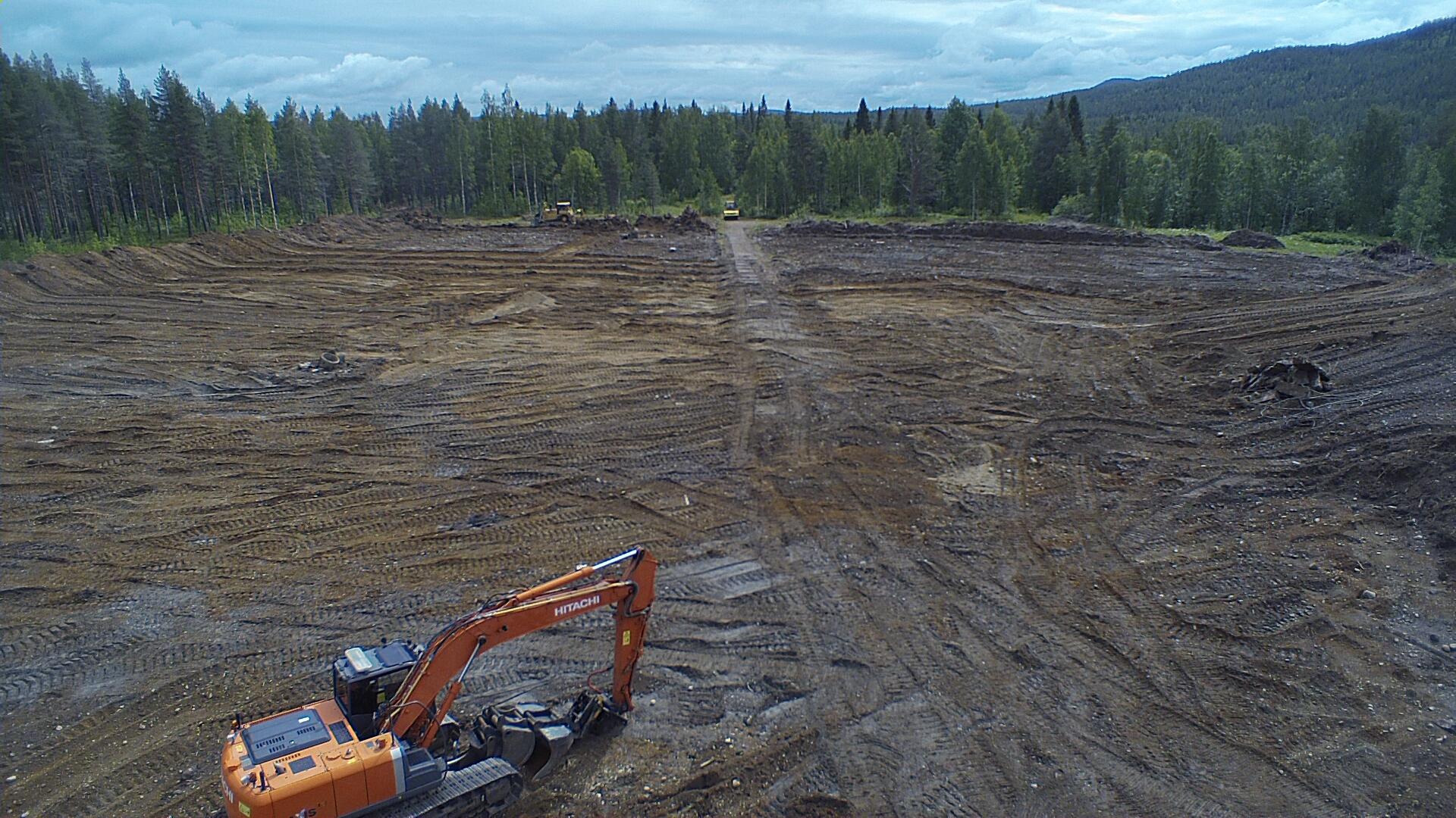 Nu är vi igång! -Nybyggnation av 130/40/20 kV-station i Grundfors